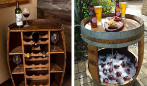 Creative ideas to reuse old barrels